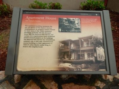 Apartment House Marker image. Click for full size.