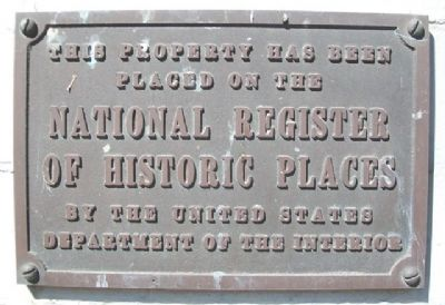 Towry Brothers Building NRHP Marker image. Click for full size.
