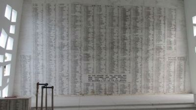 U.S.S. Arizona Memorial Shrine Room image. Click for full size.