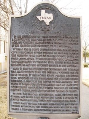 Grayson County Marker image. Click for full size.