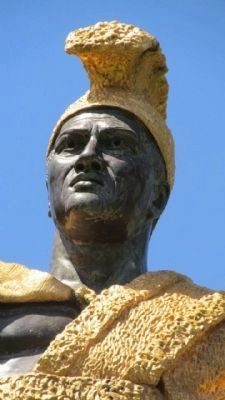 <i>King Kamehameha I</i> Marker image. Click for full size.