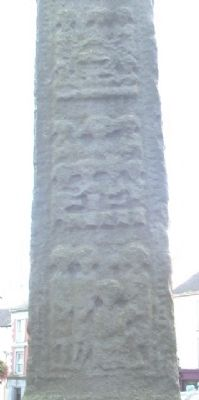 Clones High Cross (north face) image. Click for full size.