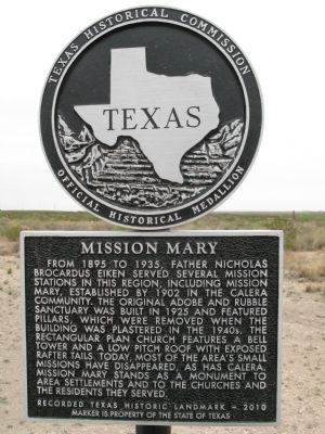 Mission Mary Marker image. Click for full size.