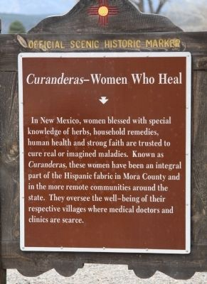 <i>Curanderas</i>&#8212;Women Who Heal Marker image. Click for full size.