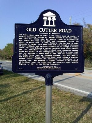 Old Cutler Road image. Click for full size.