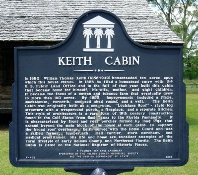 Keith Cabin Marker image. Click for full size.