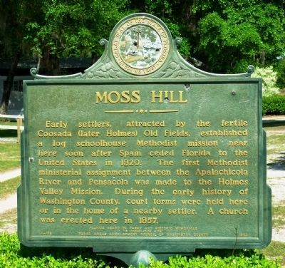 Moss Hill Marker image. Click for full size.