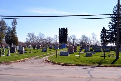 Entrance to North Webster Cemetery image. Click for full size.