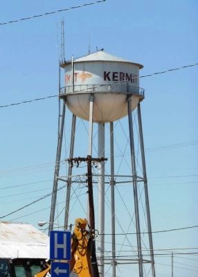 Kermit Texas Water Tower image. Click for full size.