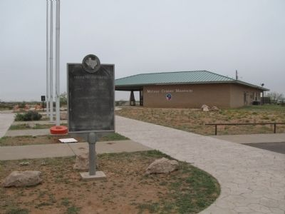 Odessa Meteor Crater Marker image. Click for full size.