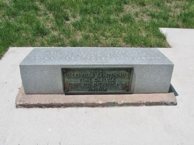 Previous Time Capsule Plaque image. Click for full size.