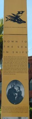 Down to the Seas in Ships Marker image. Click for full size.