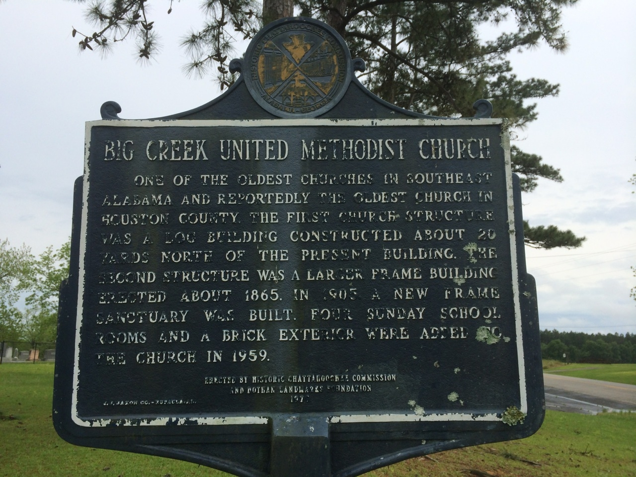 Big Creek United Methodist Church Marker