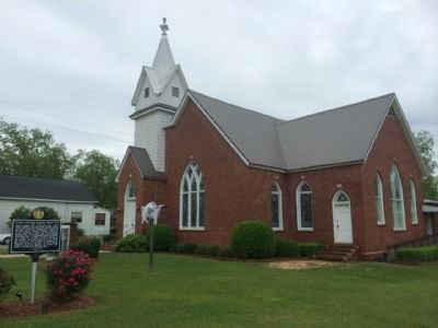 Columbia Methodist Episcopal Church image. Click for full size.