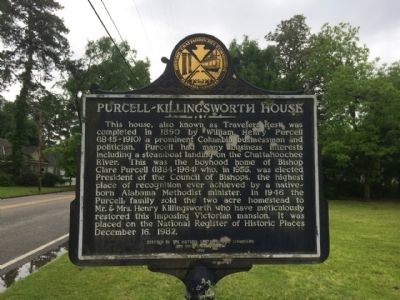 Purcell - Killingsworth House Marker image. Click for full size.