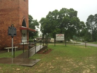 Gordon Baptist Church Area image. Click for full size.