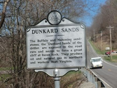 Dunkard Sands Marker image. Click for full size.