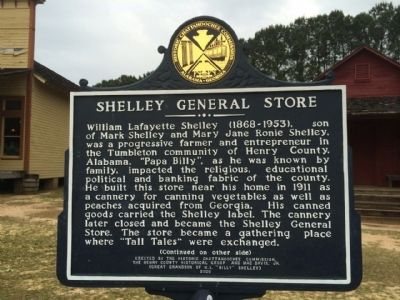 Shelley General Store Marker image. Click for full size.