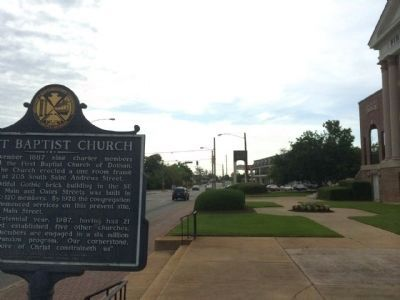 Dothan First Baptist Church area image. Click for full size.