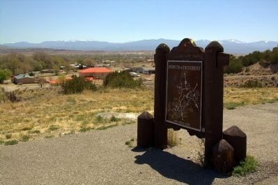 Reverse of Dominguez Escalante Trail Marker image. Click for full size.