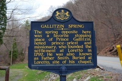 Gallitzin Spring Marker image. Click for full size.