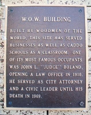 W.O.W. Building Marker image. Click for full size.