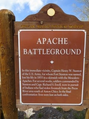 Apache Battleground Marker image. Click for full size.