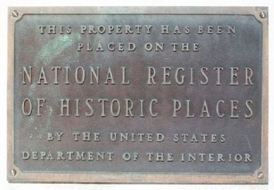 Scottish Rite Temple NRHP Marker image. Click for full size.