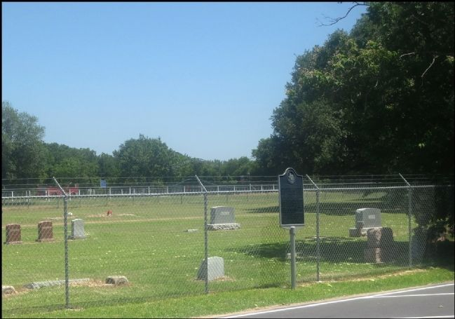 Bear Creek Methodist Church and Cemetery & Marker image. Click for full size.