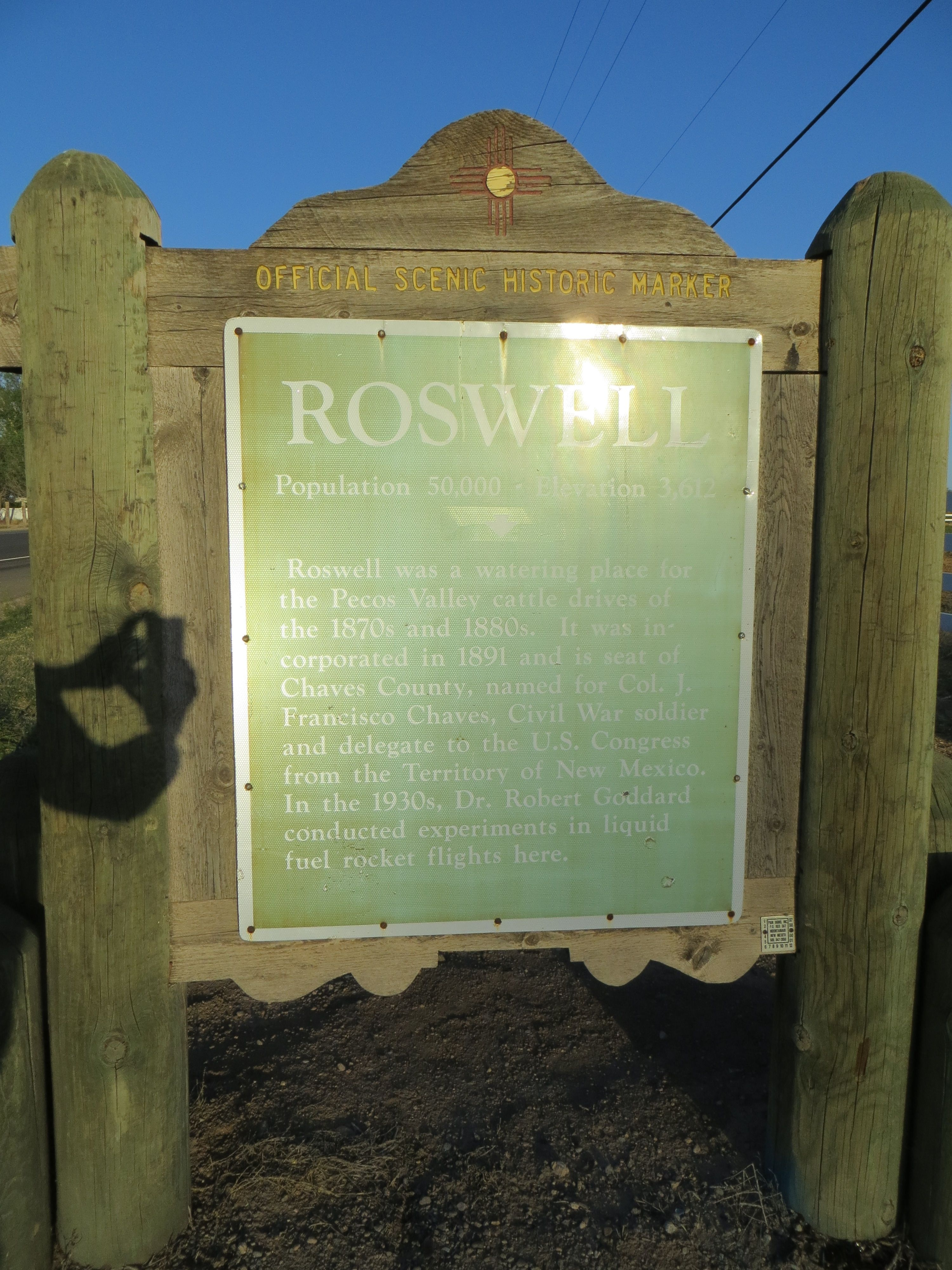 Roswell Marker