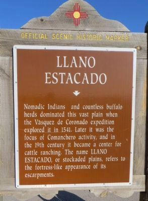 Llano Estacado Marker image. Click for full size.