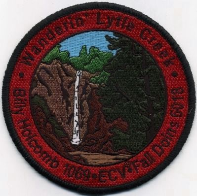 Dedication Patch image. Click for full size.
