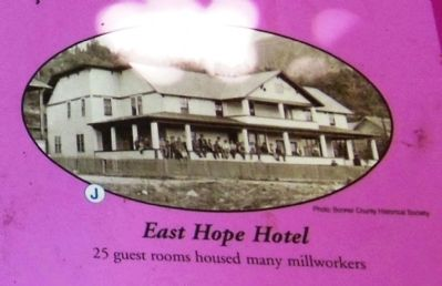 East Hope Hotel inset image. Click for full size.