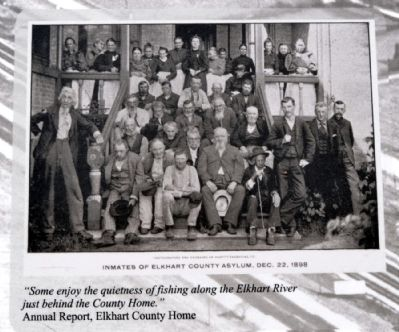 Inmates of Elkhart County Asylum, Dec. 22, 1898 image. Click for full size.