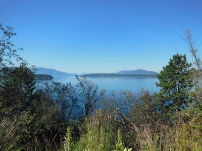 Lake Pend Oreille image. Click for full size.