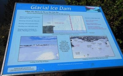 Glacial Ice Dam Marker image. Click for full size.