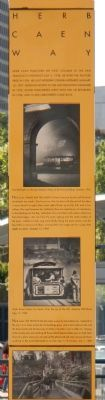 Herb Caen Way Marker image. Click for full size.