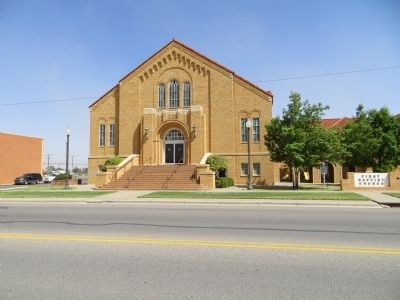 First Baptist Church of Brownfield image. Click for full size.