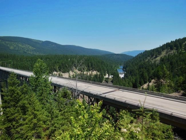 Moyie River Canyon Bridge image. Click for full size.