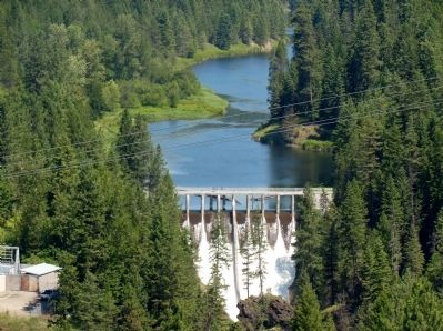 Moyie River Canyon Dam image. Click for full size.