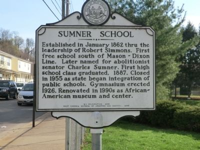 Sumner School Marker image. Click for full size.