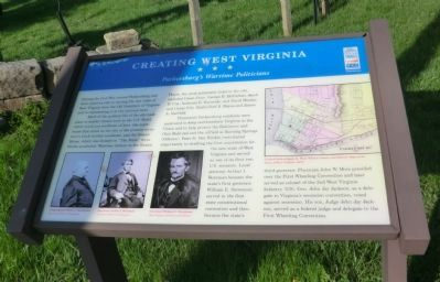 Creating West Virginia Marker image. Click for full size.