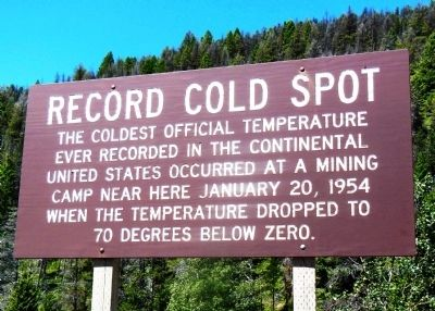 Record Cold Spot Marker image. Click for full size.
