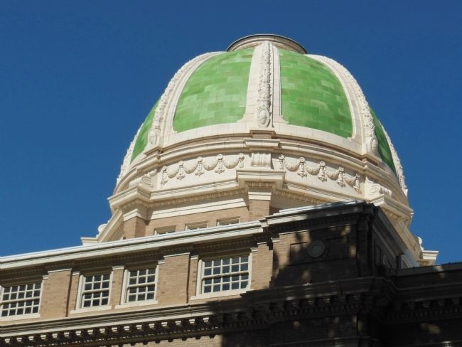 1911 Chavez County Courthouse Dome image. Click for full size.