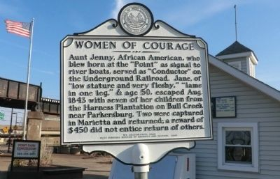 Women of Courage Marker image. Click for full size.