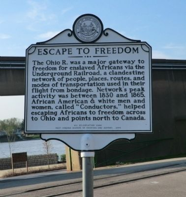 Escape to Freedom Marker image. Click for full size.