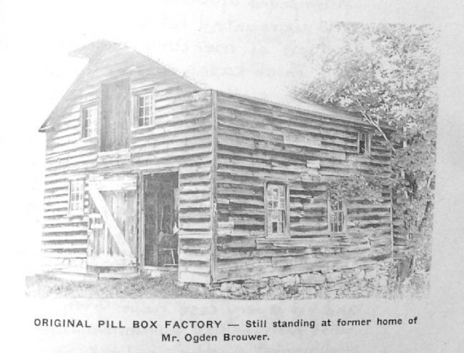 The Orginal Pillbox Factory in Knox image. Click for full size.