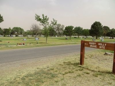 City of Lubbock Cemetery image. Click for full size.