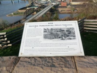 Historic Parkersburg (West) Virginia Marker image. Click for full size.