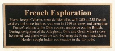 French Exploration Marker image. Click for full size.
